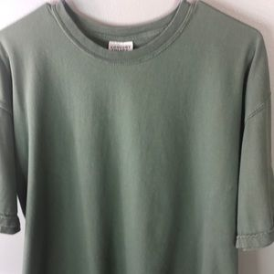 Comfort Colors L Short Sleeve Olive Green
